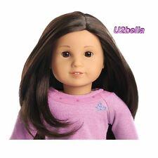 NEW AMERICAN GIRL TRULY ME Doll Light Skin,, Black,Brown Hair,BROWN EYES #30