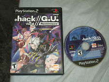 .hack//G.U.: Vol. 2 -- Reminisce (PlayStation 2, PS2) with box