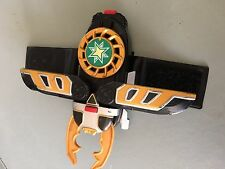 Power Rangers Ninja storm thunder morpher hard to find with green disc