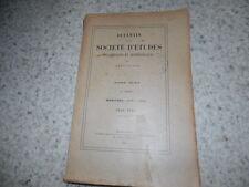 1940.Société d'études de Draguignan.Joseph Fauchet.Cannes.Toulon..