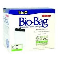 TETRA WHISPER  Bio-Bag Medium Cartridge Refills ( 8 pack )