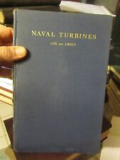1931 Naval Turbines by Cox and Libbey - US Naval Institute - LUD