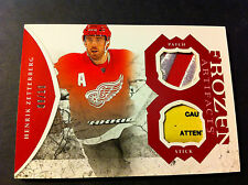 2011-12 UD Artifacts Frozen Artifacts Patch and Stick HENRIK ZETTERBERG /10 SSP!