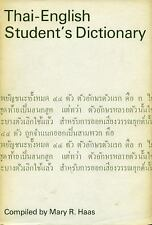 Thai-English Student's Dictionary