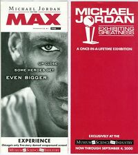 2000 Michael Jordan To The Max IMAX Preview/Info Card From Chicago