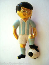 BROCHE VINTAGE JOUEUR DE FOOTBALL ARGENTINE * Collection Privée *