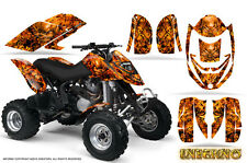 CAN-AM DS650 DS650X CREATORX GRAPHICS KIT DECALS INFERNO O