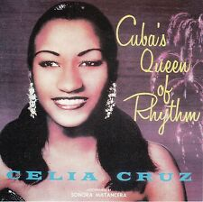 Celia Cruz Cubas Queen Of Rhythm CD No Plastic Cover