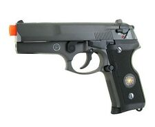 HFC M800 Semi and Fully Automatic Blowback Gas Airsoft Pistol with Gun Case