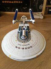 Star Trek USS Excelsior NX-2000 Model (built, painted and lights up)
