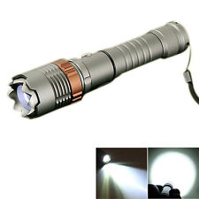 2000LM CREE XML T6 Self-defence Tactical LED Light Flashlight Torch Lantern