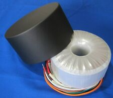 Tube Toroidal Power Transformer & Cover - 100VA 150V x2  & 6.3V x2  AS-1T150C