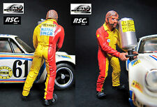 1:32 MATRA REFUELING ASSISTANT FIGURE PAINTED LEMANS MINIATURES - SCALEXTRIC
