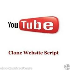 Youtube PHP Script Clone Web Site Script with Resell Rights!