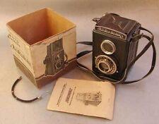 Komsomolets GOMZ Soviet Russian 6x6cm medium format camera (120 roll film) EXC!