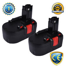 2x18V 1.3AH Ni-Cd Battery for BOSCH 18Volt Cordless Combi Drill PSR 18 VE-2 VE 2