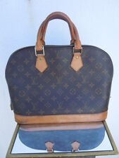 Authentique sac Alma patiné Louis Vuitton Paris made in France époque vintage