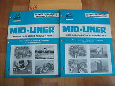 Mack Trucks MIDS 06.20.30 Engine Rebuild Manuals Parts 1 & 2 only