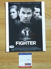 MARK WAHLBERG signed 8x10 Photo PSA AC66525 THE FIGHTER Rock Star PATRIOTS DAY