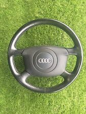 AUDI A8 - D2 - BLACK LEATHER STEERING WHEEL and AIRBAG