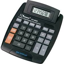New Jumbo Desktop Calculator 8 Digit Large Button School Home Office Battery