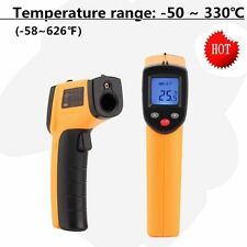 Non-Contact LCD IR Laser Infrared Digital Temperature Thermometer Gun For Baby #