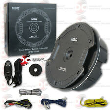 NEW CAR UNIVERSAL SPARE TIRE SUBWOOFER WITH BUILT-IN AMPLIFIER