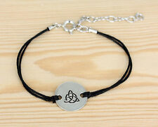 Armband - Baumwolle  - Celtic  keltische Knoten
