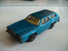 "Matchbox Superfast Cougar Villager ""Translease BV"" in Blue (code 3 Promo model)"