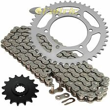 Drive Chain & Sprockets Kit Fits YAMAHA FZ6 FZ600S FZ6S 2004 2005 2006 2007 2008