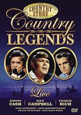 COUNTRY STORE - COUNTRY LEGENDS LIVE - CASH/CAMBBELL/JO SPEARS/RICH-FREE POST UK