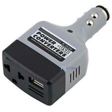 Car Auto Charger Adapter DC 12V To AC Converter 220V Charger Power With USB TL
