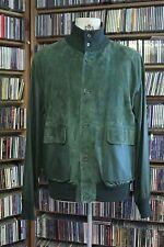 Amir Custom Lambsuede (suede)/Lambskin (leather) Green Jacket / A1 Blouson Sz.44