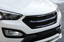 Roadruns Black Front Radiator Grill Hood for 2013+ HYUNDAI SANTA FE SPORT
