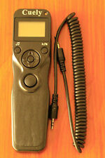 Camera LCD Timer Control Shutter Remote Cord for Canon RS-60E3 C1 Pentax UK