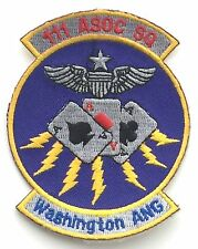 RAF 111 Association SQN WASHINGTON AIR NATIONAL GUARD Military Patch