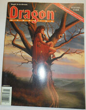 Dragon Magazine Magic School & Through The Looking Glass November 1990 122614R