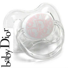 100%AUTHENTIC LtdEdition BABY GIRL DIOR DUMMY SOOTHER Pacifier WORLDWIDE SELLOUT