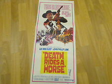 Death Rides a Horse  Lee Van CLEEF  Original  AUSTRALIAN  Cinema / Movie Poster