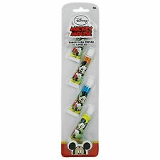 Disney Mickey Mouse Colour Paint Tubes Set Art Crafts Kids School Painting 4PC