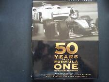 FIFTY YEARS OF THE FORMULA ONE WORLD CHAMPIONSHIP,BRUCE JONES,1ST EDITION 1999