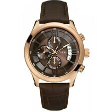 GUESS Chronograph Brown Dial Men's Watch - W14052G2