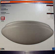LED Energy Star SYLVANIA White INDOOR CEILING MOUNT FIXTURE 22 Watt 1600 Lum NEW