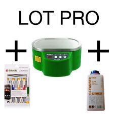 Cuve bain de nettoyage à ultrasons BAKU BK-9050 +1 L cleanser Druk  + KIT OUTILS
