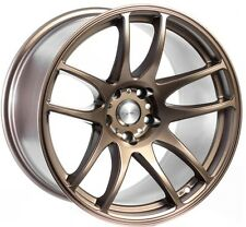 ESR SR08 18X10.5 Wheels 5x114.3 +22 Matte Bronze Rims (set of 4)