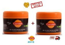 2 x CARROTEN TAN EXPRESS TANNING GEL - 2 x150ml - NEW 2015 - SPECIAL OFFER