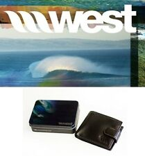 NEW West Surfing Manor Leather Wallet mens surf Msrp$30