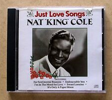 Nat King Cole - Just Love Songs, CD