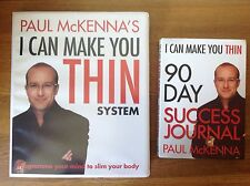 Paul McKenna's 4 CD Box Set I Can Make You Thin Weight Loss System  Journal Book