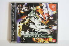 Gundam Battle Online Scratches SEGA Dreamcast DC Japan Import US Seller
